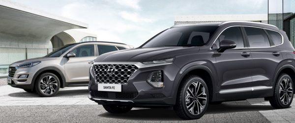 Hyundai Santa Fe и Tucson 2018 года со скидками до 100.000₽