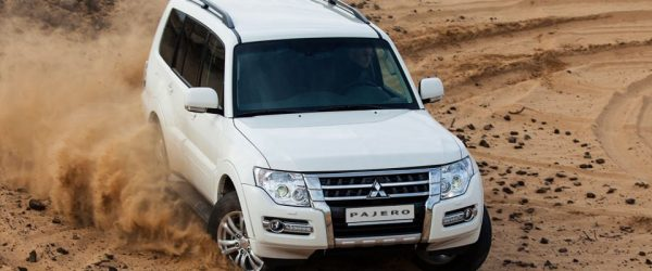 Акция на внедорожник Mitsubishi Pajero — выгода до 150.000₽