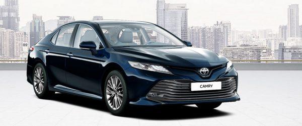 Акция на автомобиль Toyota Camry — выгода до 150.000₽