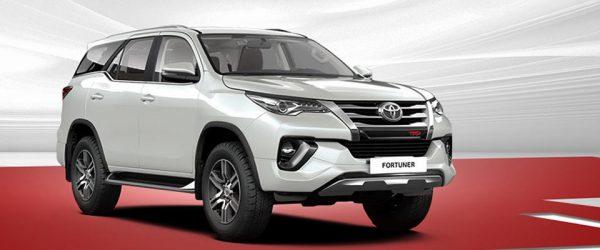 Скидки на внедорожник Toyota Fortuner — выгода до 400.000₽