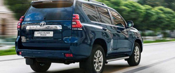 Ставка от 6,5% годовых при покупке внедорожников Toyota